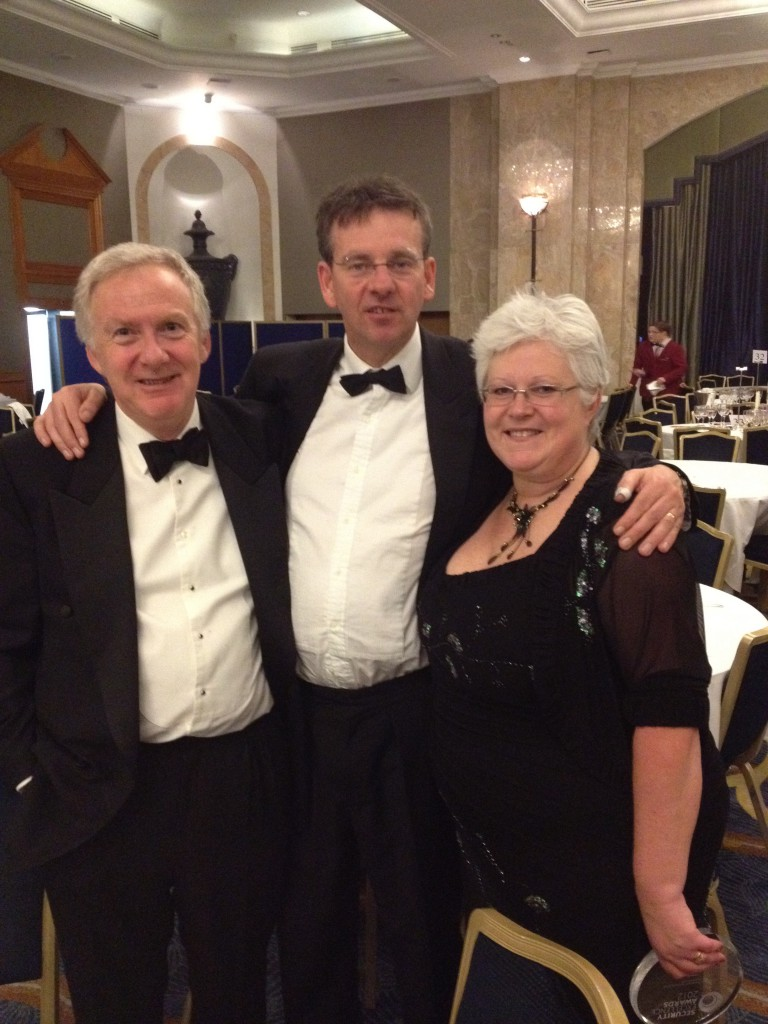 Martin at the Security Excellence Awards